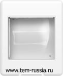 Коробка 2М наружного монтажа CUBO, белая, IP55