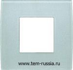 "Рамка 2М ""PURE"" декоративная, GG стекло ""зеленый лёд"""