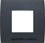 "Рамка 2М ""PURE"" декоративная, GY стекло ""серый лёд"""