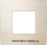 """Рамка 2М """"PURE"""" декоративная, WM дерево """"клён"""""""